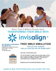 Get a free smile simulation